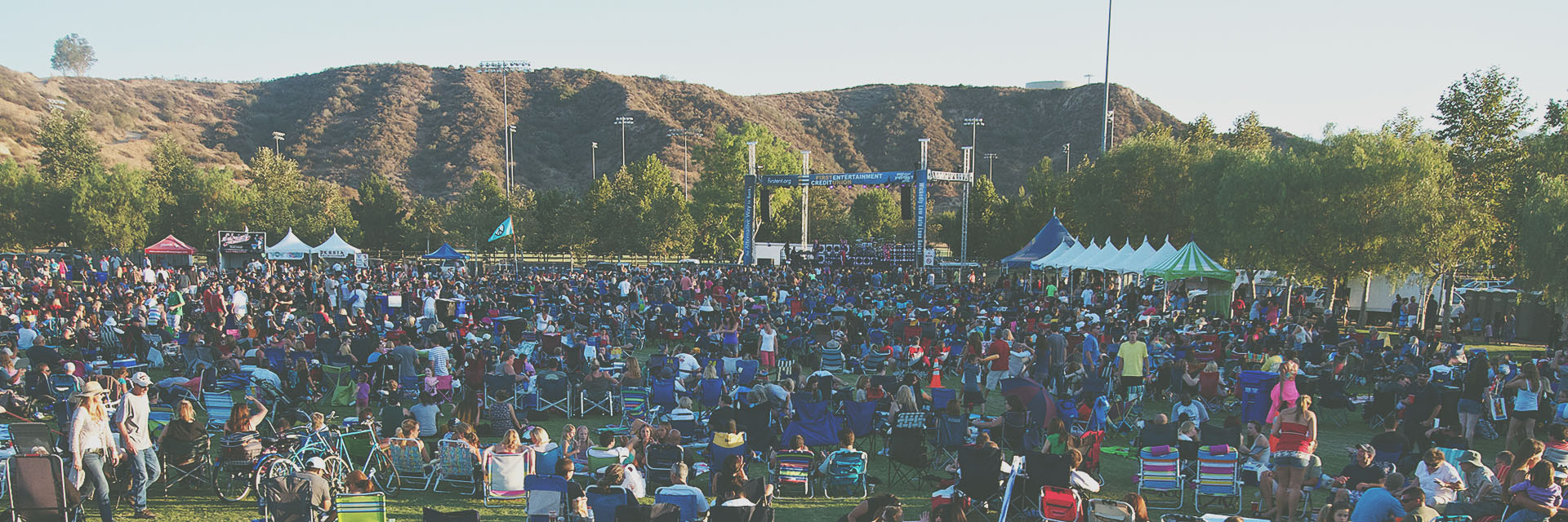 Concert at the City of Santa Clarita